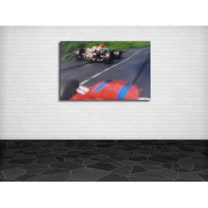 "Carrera ""F1"" LEINWAND 50 x 75 cm"