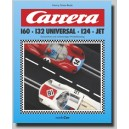 CARRERA 160 · 132 UNIVERSAL · 124 · JET